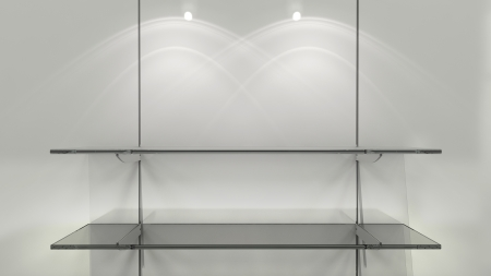 shelf on panels Stock Photo - 18838602