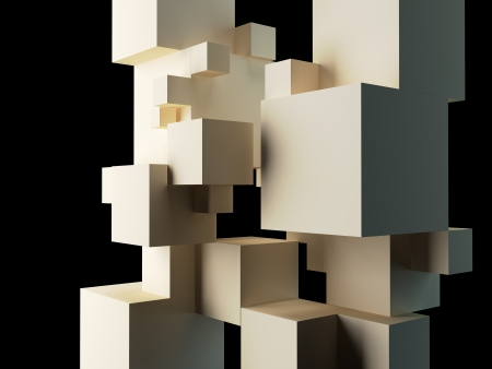 abstract architectural background Stock Photo - 18838494