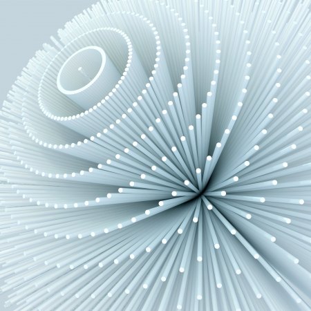 abstract white background Stock Photo - 18838757