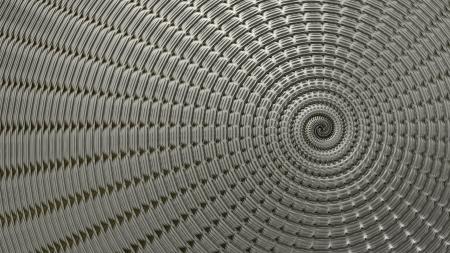 metal swirl background Stock Photo - 18838802