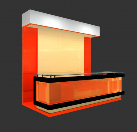 exhibition booth design photo