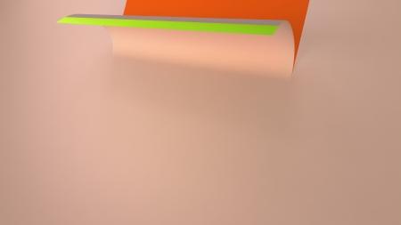 paper curl: la curvatura del papel de fondo Foto de archivo