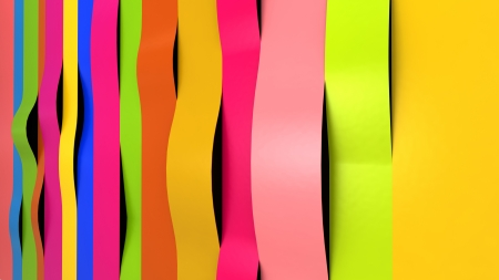 colorful paper sheets in stack Stock Photo - 18857673