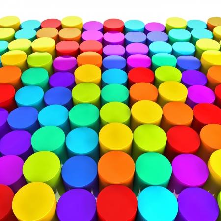 color plastic buttonsv photo