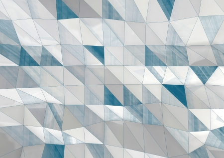 abstract white and blue architectural background Stock Photo - 18926114