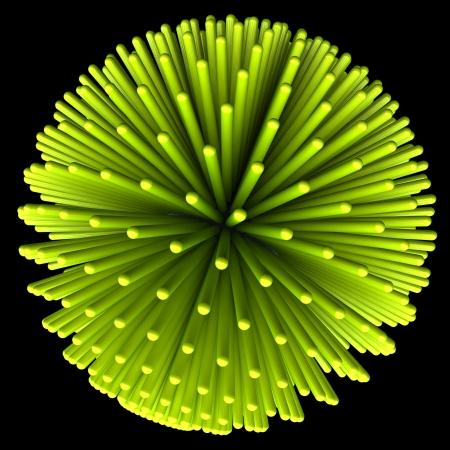 abstract nano-molecular structure Stock Photo - 18954391