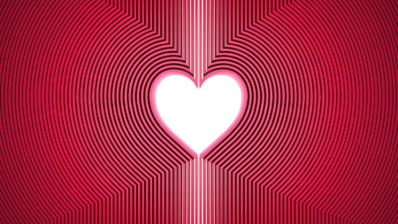 true love: abstract heart shape background