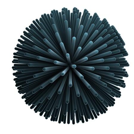 abstract nano-molecular structure Stock Photo - 18954370