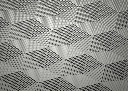 visualisation: abstract graphite surface visualisation