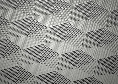 nanotubes: abstract graphite surface visualisation