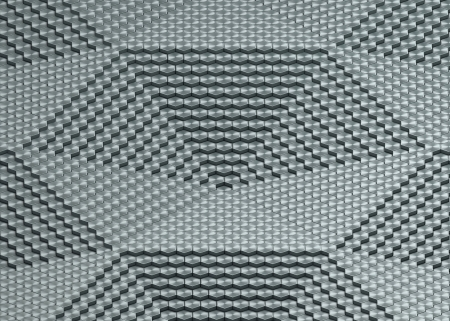 abstract graphite surface visualization