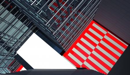 actual: abstract architectural background Stock Photo