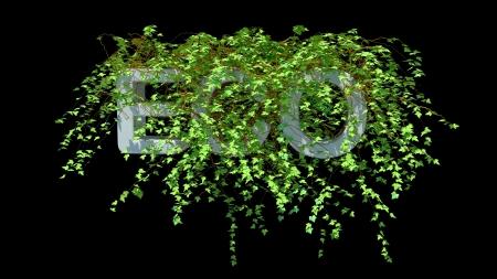 environmental issues: conceptual illustration on environmental issues, high resolution 3d render Stock Photo