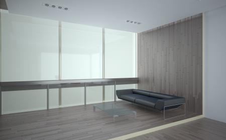 office recreation room interior with laminate finishing Stock Photo - 19012405