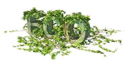 environmental issues: conceptual illustration on environmental issues, high resolution 3d render Stock Photo
