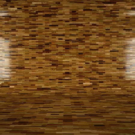 abstract wooden interior with laminate finishing photo