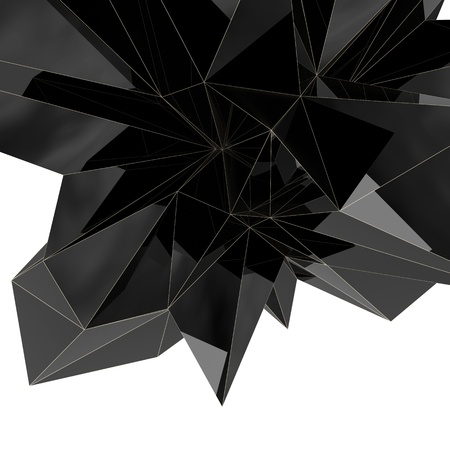 abstract background made of dynamic triangular shapes