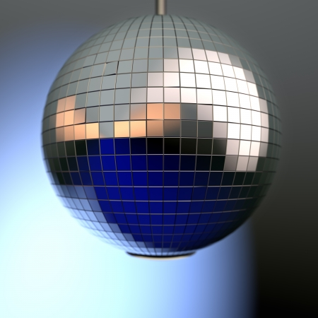 mirror ball with natural reflection and depth of field Stock Photo - 22471580