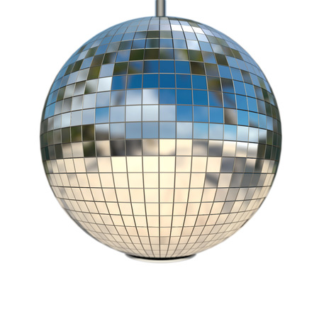 mirror ball with natural reflection and depth of field Stock Photo - 22471586