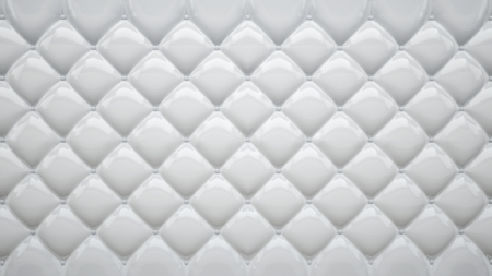 abstract background made of white soft plastic or rubber Stock Photo