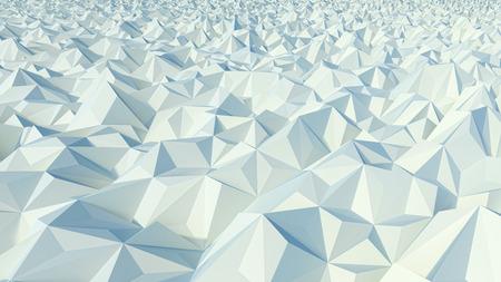 relievo: stylized geometric landscape made of poligonal digital surface