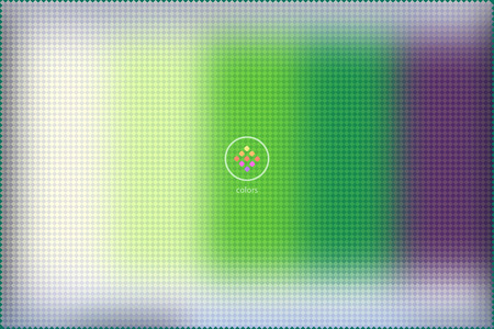 swatches: abstract blurred vector background formed with hundred of rectangular swatches grouped by color Illustration