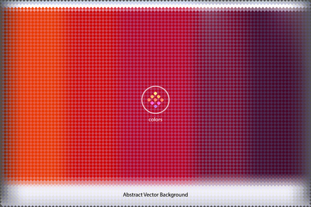 abstract vector background formed with hundred of rectangular swatches grouped by color