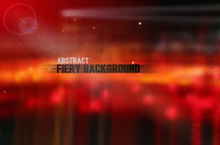 abstract vector blurred background in fiery color palette