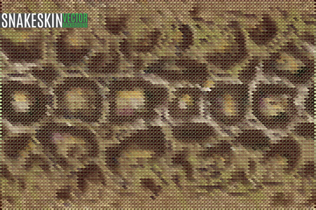 exotic: exotic snake skin pattern stylized vector background