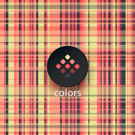 color palette: abstract geometric background with geometric elements in stylish color palette Illustration
