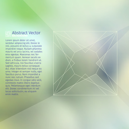 myst: abstract vector background with mysterious blurred depths