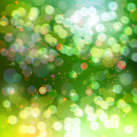 light reflex: abstract beautiful bokeh glowing space colorful background