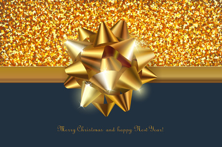 festive background: festive background for greeting card with shiny decorative design element