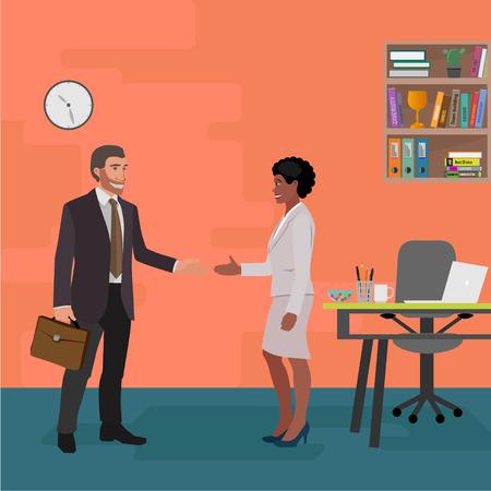 business style illustration