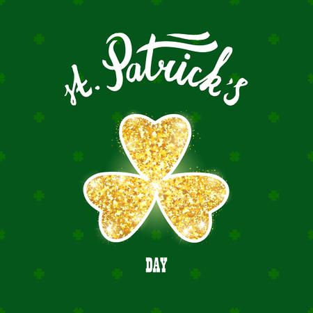 saint Patricks greetings card
