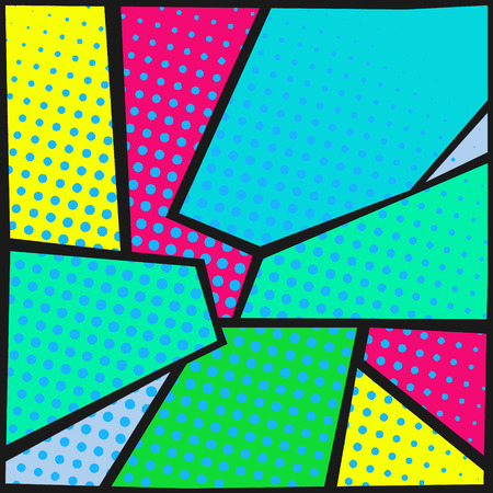 abstract pop-art background