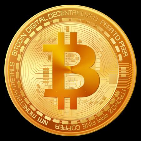 Bitcoin golden sign