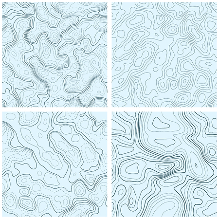 land topography patterns