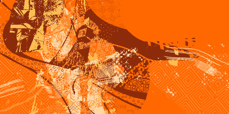 Abstract artistic background illustration.