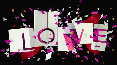 Love letters composition