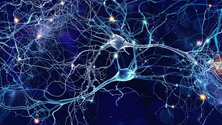 Neuronen cellen concept Stockfoto - 94618340