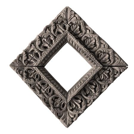 ancient wooden frame - nepali handicraft