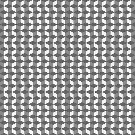 superimposed: background with geometrical motif of regular superimposed grey 3d cubes   Stock Photo