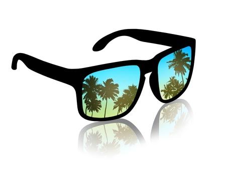 man on vacations in tropics Stock Photo - 21220722