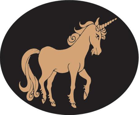 the unicorn Vector