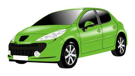 green car                                Stock Photo