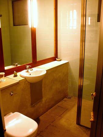 bathroom at the hotel                           photo