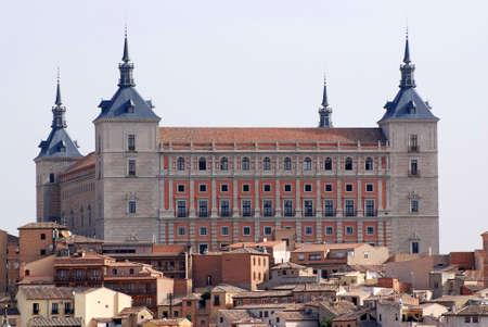 medieval building in Toledo photo