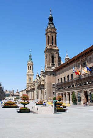 the cathedral in Zaragoza Stock Photo - 2474614