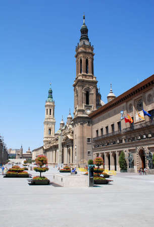 zaragoza: the cathedral in Zaragoza